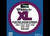D'Addario XL Nickel Round Wound - EXL120 9-42 Super Light