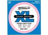 D'Addario XL Nickel Round Wound - EXL120+ 9.5-44 Super Light Plus