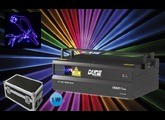 Laser 1W RGB Dune Lighting Crazy 7 pro + fly
