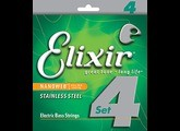 Elixir Strings Nanoweb Bass 14702 50-105 4-String Medium, Long Scale