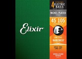 Elixir Strings Nanoweb Coating Bass Nickel Plated