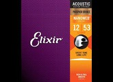 Elixir Strings Nanoweb Coating Phosphore Bronze Acoustic