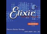 Elixir Strings Nanoweb Electric 12077 10-52 Light-Heavy