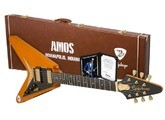 "Epiphone Ltd. Ed. Joe Bonamassa 1958 ""Amos"" Korina Flying-V Outfit"