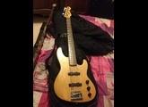 Jazz bass Plus V défrettée de 1990