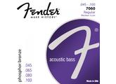 11 X Fender Jeux de cordes basse acoustique 45/100 Regular