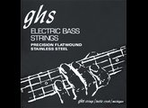 GHS M3050 - Stainless Steel Bass Precision Flats 45-105