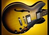 Gibson ES-339 Custom shop sunburst brown