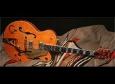 Gretsch G6120W Nashville Western - Orange