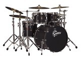 Batterie acoustique GRETSCH Renown Maple + Cymbales Zildjian K + Caisse claire Sonor