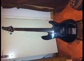 Vends basse électrique Fretless Hohner P8 Bass FL - customisée aluminium (RARE)