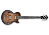 Vends Basse IBANEZ 1/2 caisse 5 cordes model AGBV205A-TCL style vintage