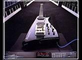 Guitare Ibanez IMG-2010 + convertisseur MIDI MC-1 + pédalier MIDI IFC60