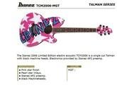 """Ibanez Talman électro acoustique """"Retro Dress"""" Edition Limitée"""