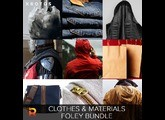Krotos Clothes & Materials Foley Bundle