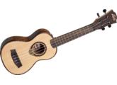 Lâg U500se : ukulele électro-acoustique + un paquet de cordes neuves D'addario