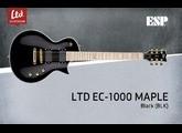 Superbe LTD EC1000 BLACK VINTAGE 2015 comme neuve