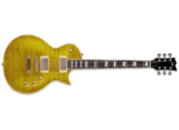 Guitare électrique GAUCHER Ltd EC-256FMLH - lemon drop