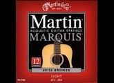 Martin & Co Marquis 80/20 Bronze M1700 Light 12-String 12-54 12-30
