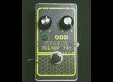 vends ODD Preamp 741/Overdrive,
