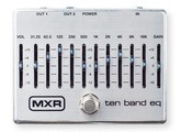 MXR M108S Ten Band EQ Manual