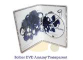 Pressage.EU Pressage DVD - Boîtier DVD Amaray Transparent