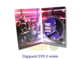 Pressage.EU Pressage DVD - Digipack DVD, 2 volets (4 pages)