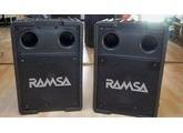 une paire de sub Ramsa + controleur