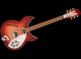 Guitare 12 cordes JIM HARLEY (copie Rickenbaker)