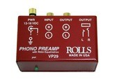 Rolls VP29 Phono Preamp Manual & Schematic