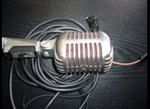 Microphone Shure 55SW Unidyne II années 1960