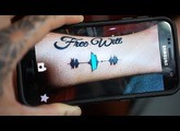 Skin Motion Soundwave Tattoos