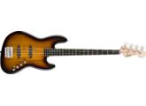 Squier Deluxe Jazz Bass Active très bon état + housse + sangle, envoi possible !