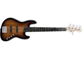 Squier Deluxe Jazz Bass V Active, Sunburst