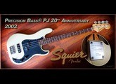 Squier Precision Bass PJ 20th anniversary