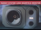 TANNOY SYSTEM 1200 paire de moniteurs studio midfield en excellent état.