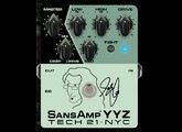 Tech 21 SansAmp YYZ Geddy Lee Signature