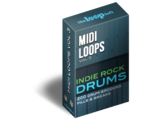 The Loop Loft Indie Rock Drums MIDI Drum Loops