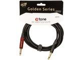 X-Tone Golden Instrument Cable Silent Plug X3070