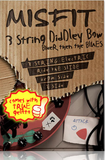 8dio 3-String Diddley Bow