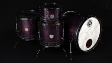 A. Custom Drums Dark purple satin stain