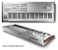 Access Music Virus TI2 Keyboard WhiteOut Limited Edition