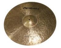 """Agean Cymbals Natural Crash Thin 19"""""""