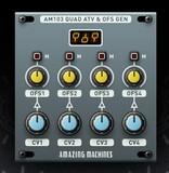 Amazing Machines AM103 Quad Attenuverter & Offset Generator