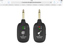 Ammoon UHF Guitar Wireless System Transmitter Receiver