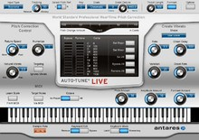 Antares Audio Technology Auto-Tune Live