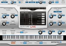 Antares Systems Auto-Tune Live