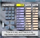 Apocalypse999 BPM Midi Calculator 2.0