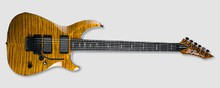 B.C. Rich Villain Deluxe - Tiger's Eye