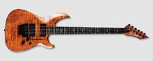 B.C. Rich Villain Veil - Tiger's Eye